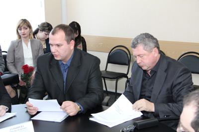 С.Шаршуков и Д.Семенов