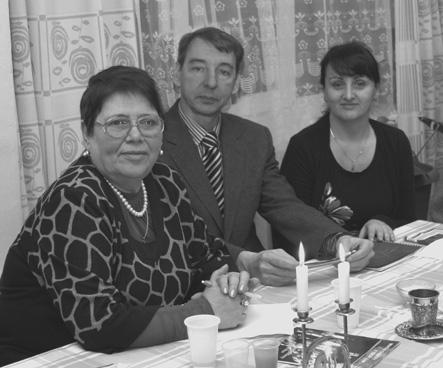На Шаббате: Сусанна Кулакова, Борис Легран, Лариса Эрихма